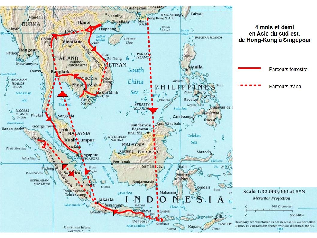 Hong Kong Singapour Carte.Singapour Notre Terminus En Asie Tour Du Monde En Famille